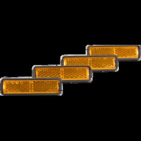 RFR Pedalrefleks-sæt orange